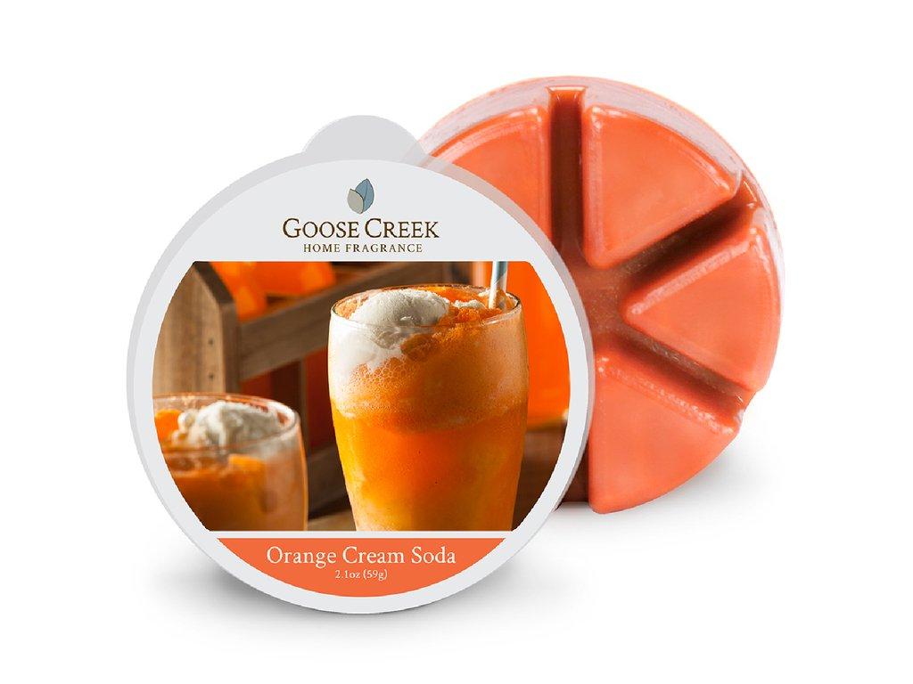 Goose Creek Candle Vonný Vosk Pomerančová krémová soda - Orange Cream Soda, 59 g