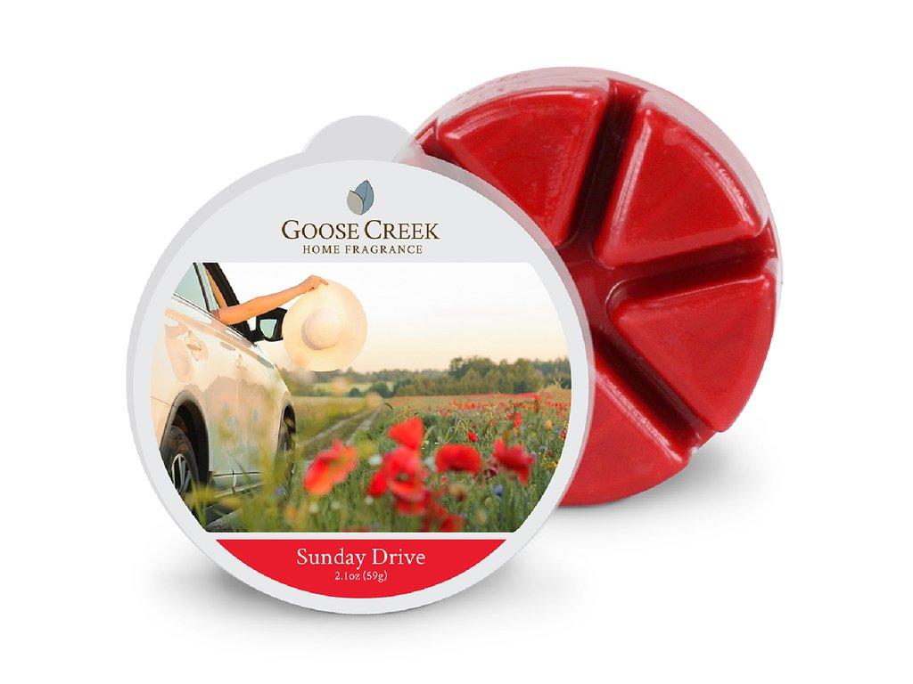 Goose Creek Candle Vonný Vosk Nedělní jízda -  Sunday Drive, 59 g
