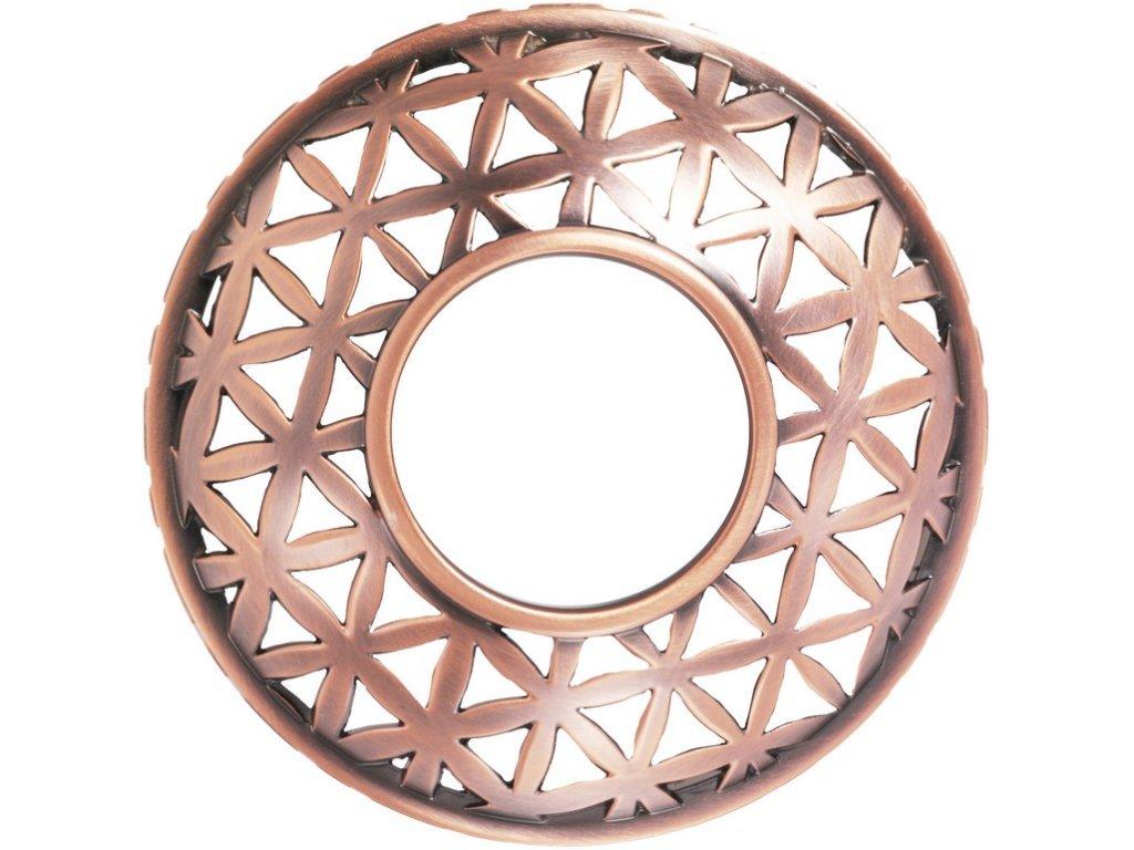Yankee Candle Belmont Satin Copper Punched Metal Ozdobný prstenec na svíčku
