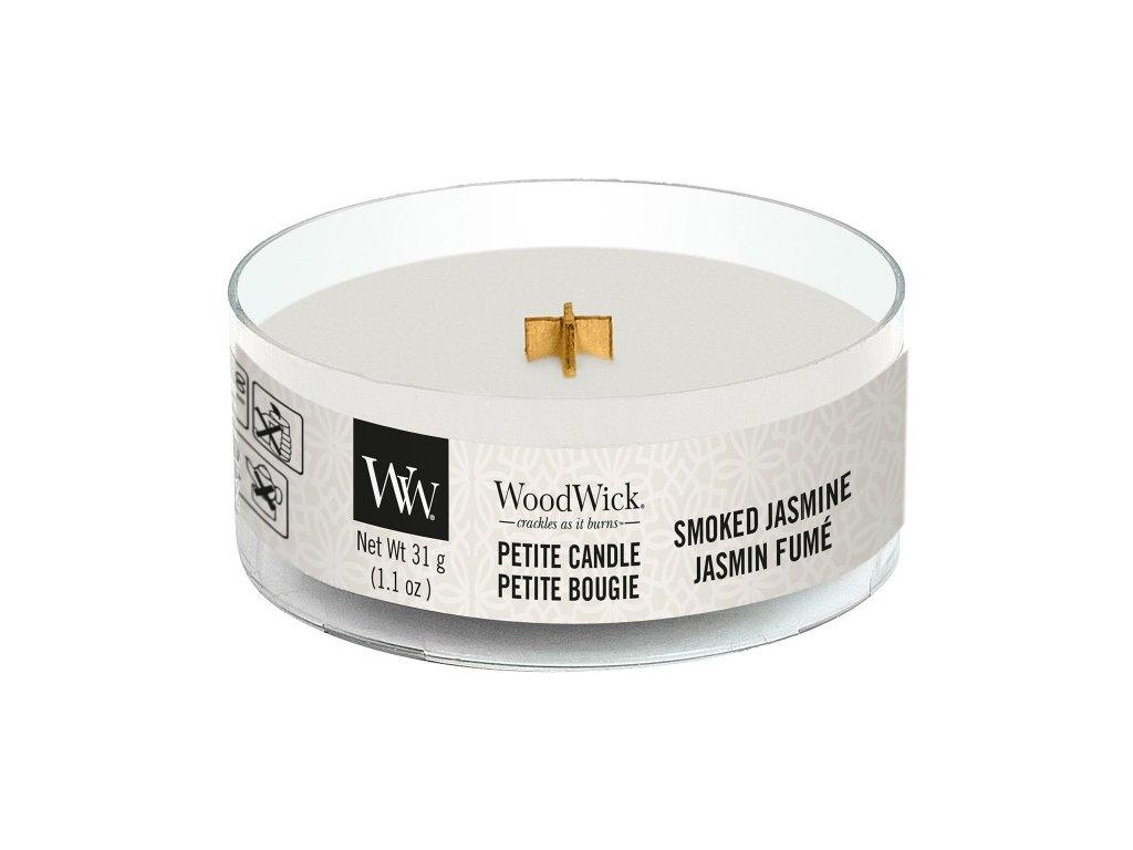WoodWick Svíčka Petite Smoked Jasmine, 31 g