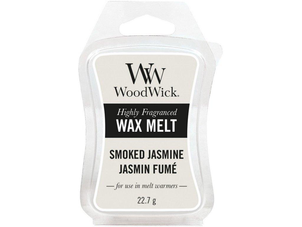 WoodWick Vonný vosk do aromalampy Smoked Jasmine, 22,7 g