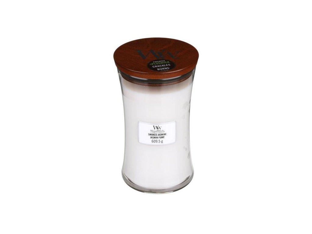 WoodWick Svíčka Smoked Jasmine váza velká, 609,5 g