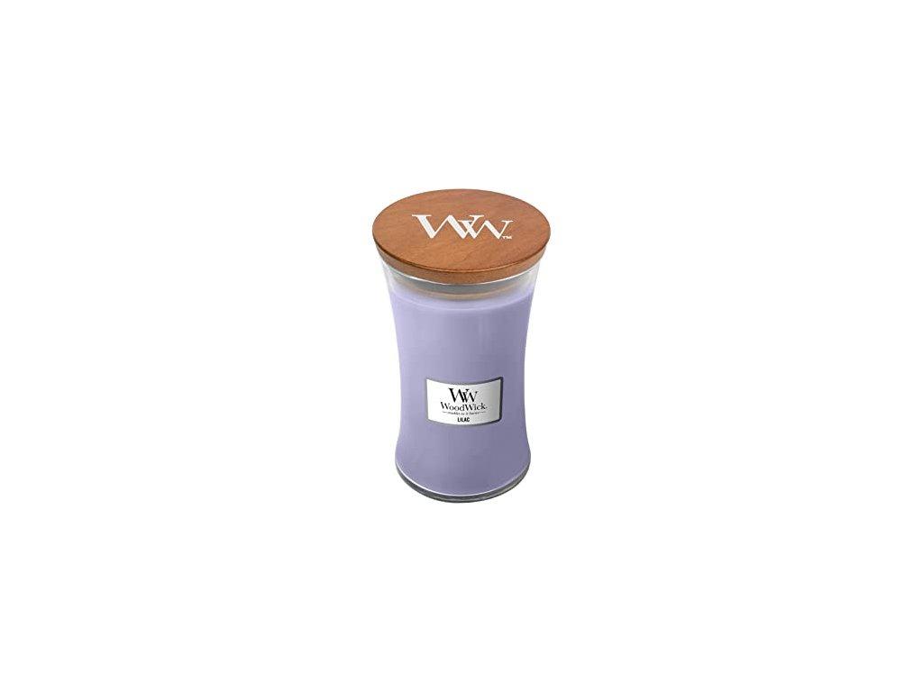 WoodWick Svíčka Lilac váza velká, 609,5 g