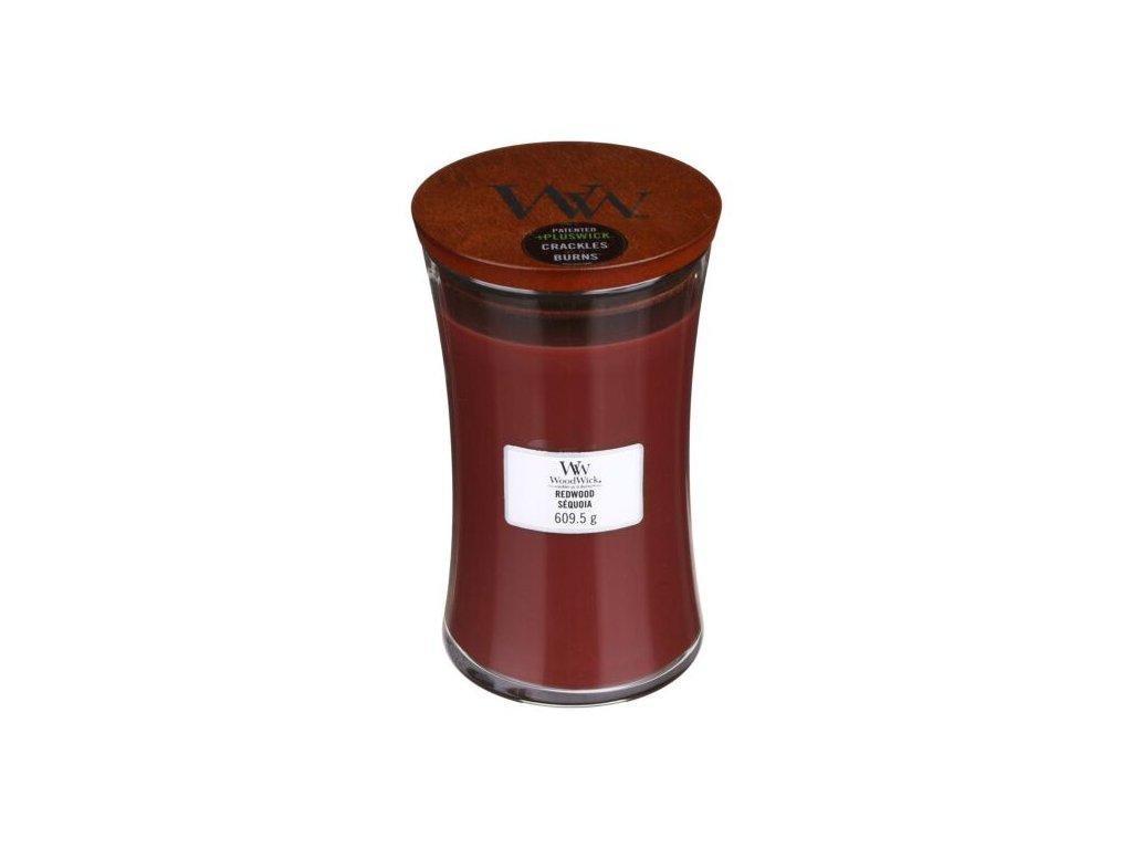 WoodWick Svíčka Redwood váza velká, 609,5 g