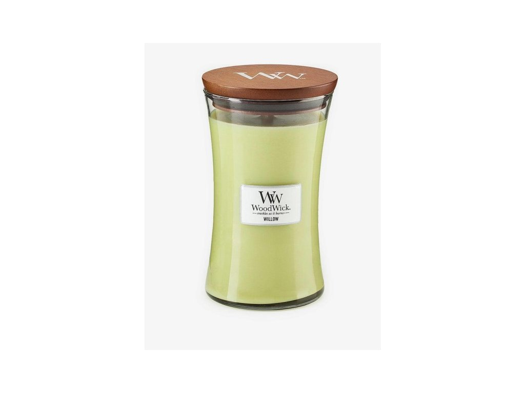 WoodWick Svíčka Willow váza velká, 609,5 g