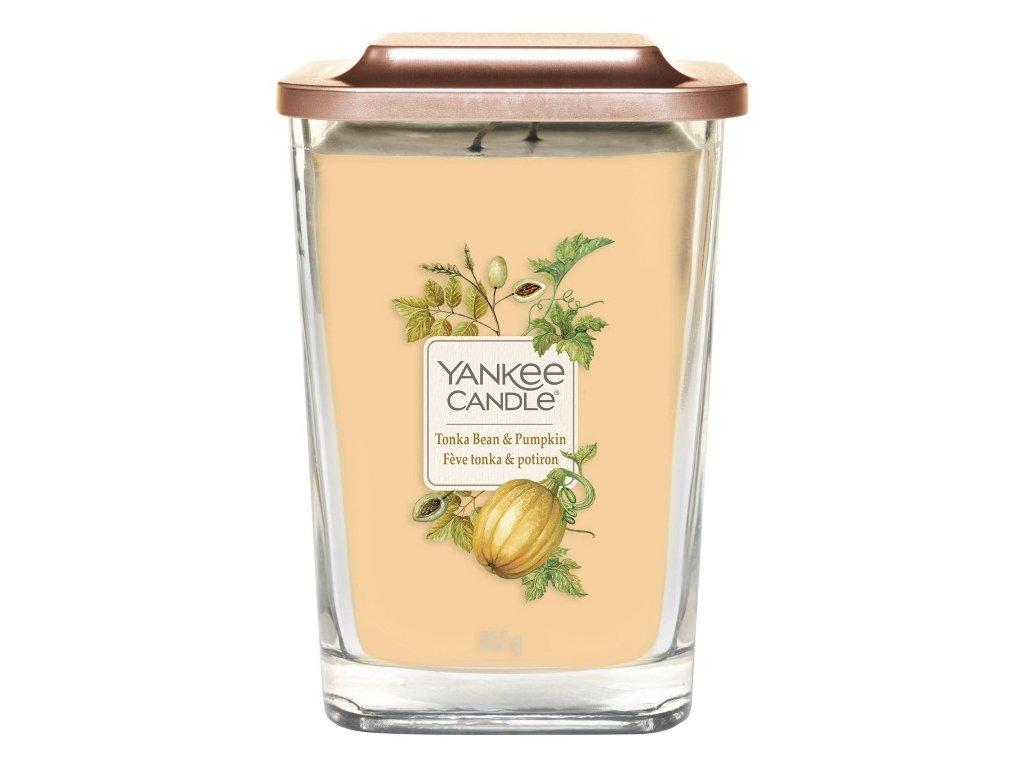 Yankee Candle Svíčka Elevation Tonka Bean & Pumpkin velká, 552 g