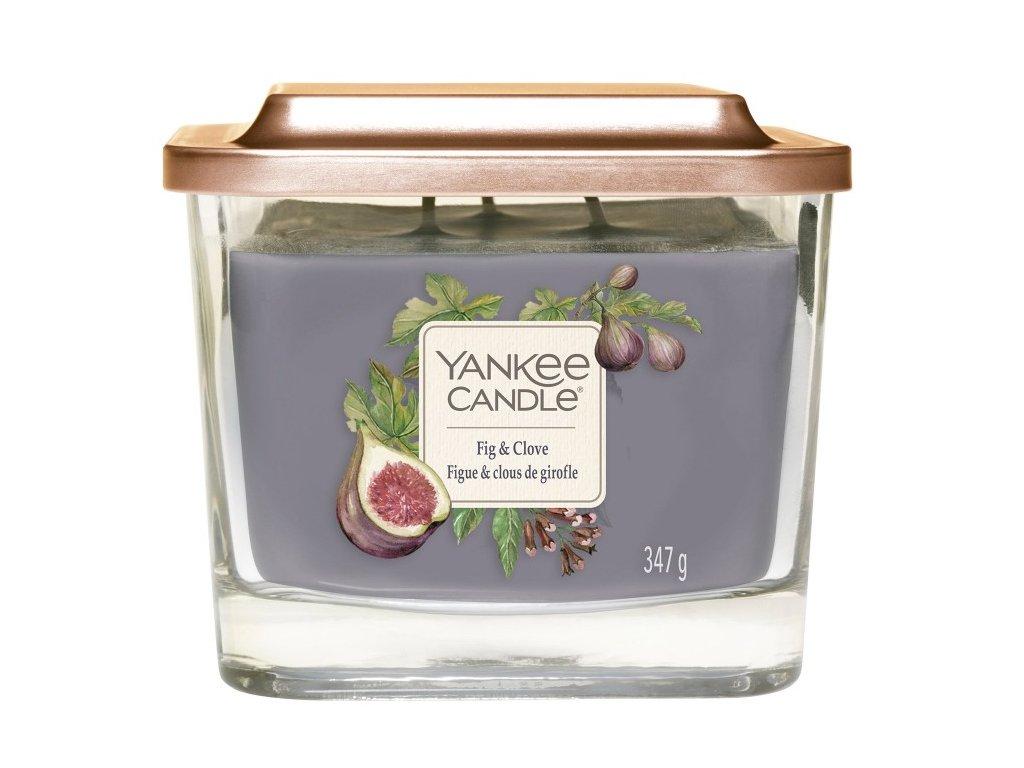 Yankee Candle Svíčka Elevation Fig & Clove střední, 347 g