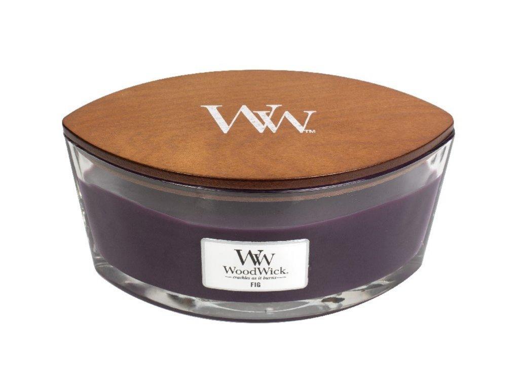 WoodWick Svíčka loď Fig, 453 g