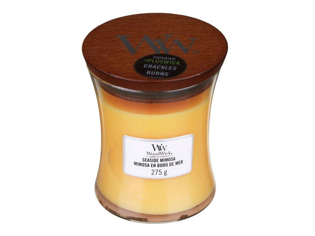 WoodWick Svíčka Seaside Mimosa váza střední, 275 g