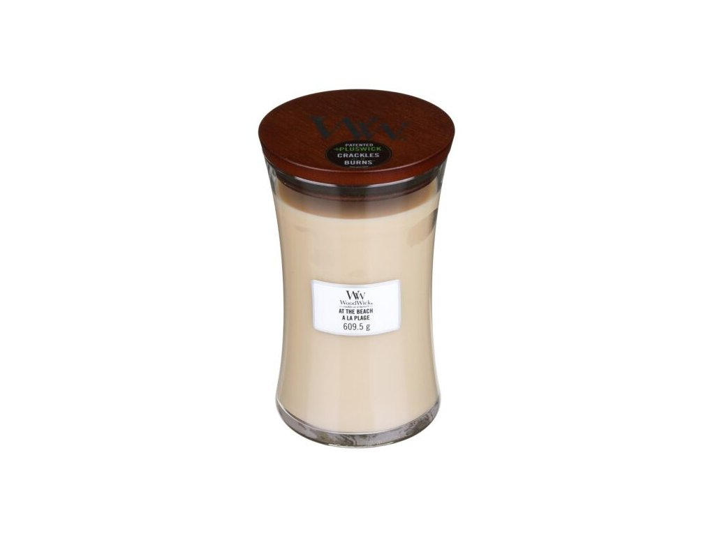 WoodWick Svíčka At the Beach váza velká, 609,5 g