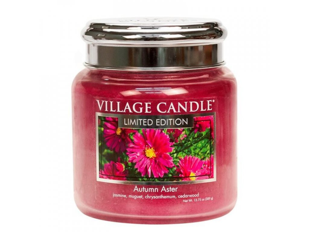 Village Candle Vonná svíčka Autumn Aster, 390 g