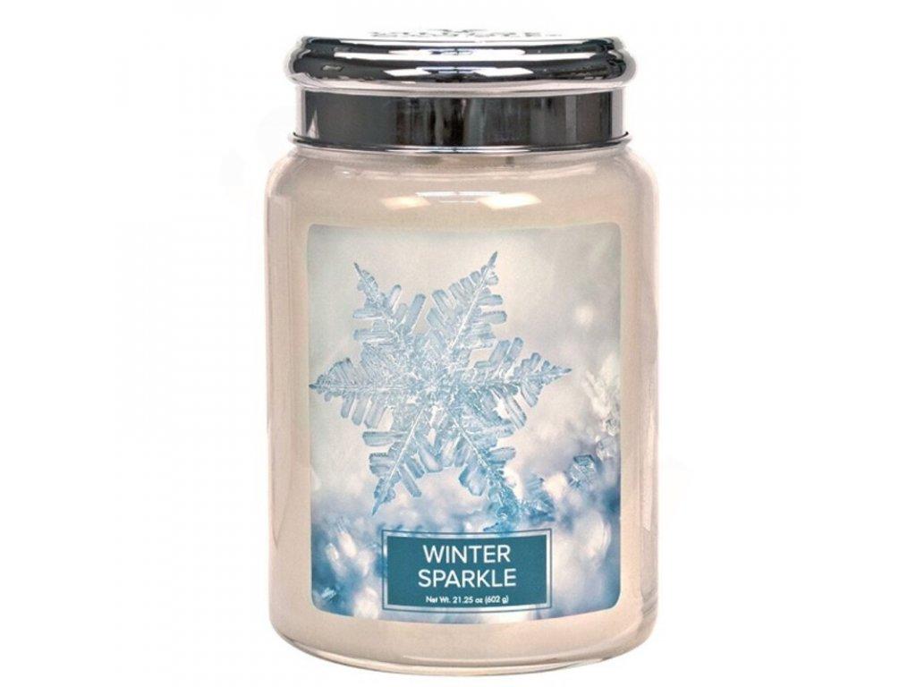 Village Candle Vonná svíčka Winter Sparkle, 602 g