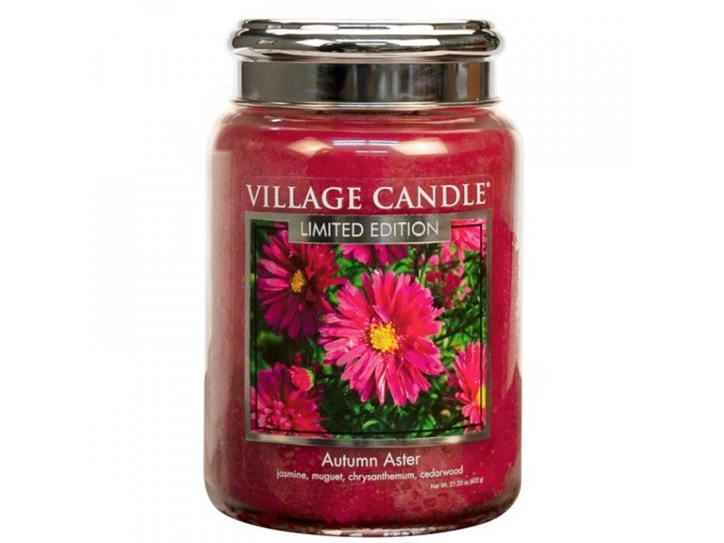 Village Candle Vonná svíčka Autumn Aster, 602 g