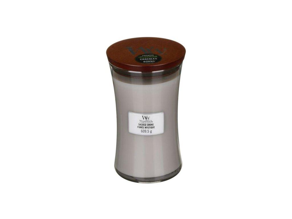 WoodWick Svíčka Sacred Smoke váza velká, 609,5 g