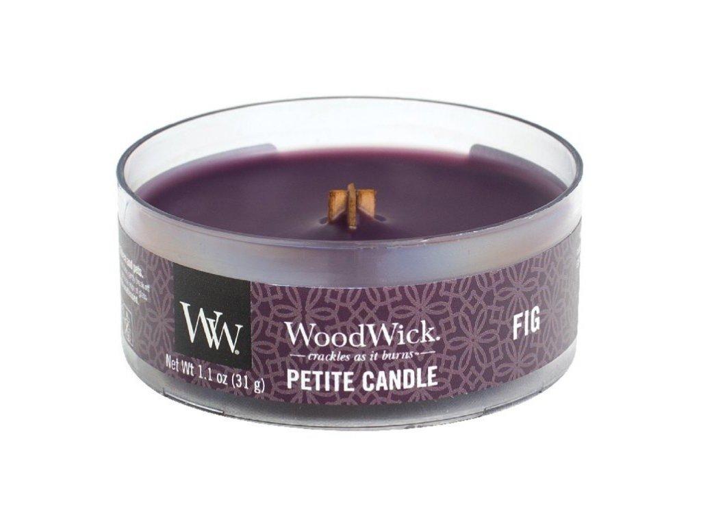 WoodWick Svíčka Petite Fig, 31 g