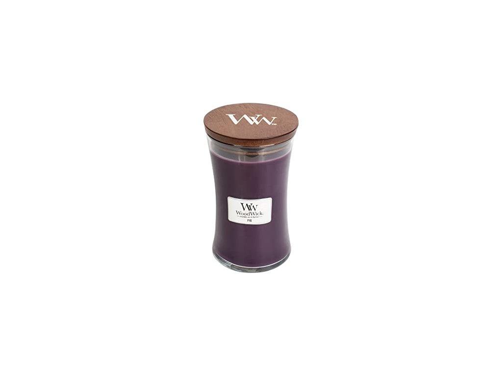 WoodWick Svíčka Fig váza velká, 609,5 g