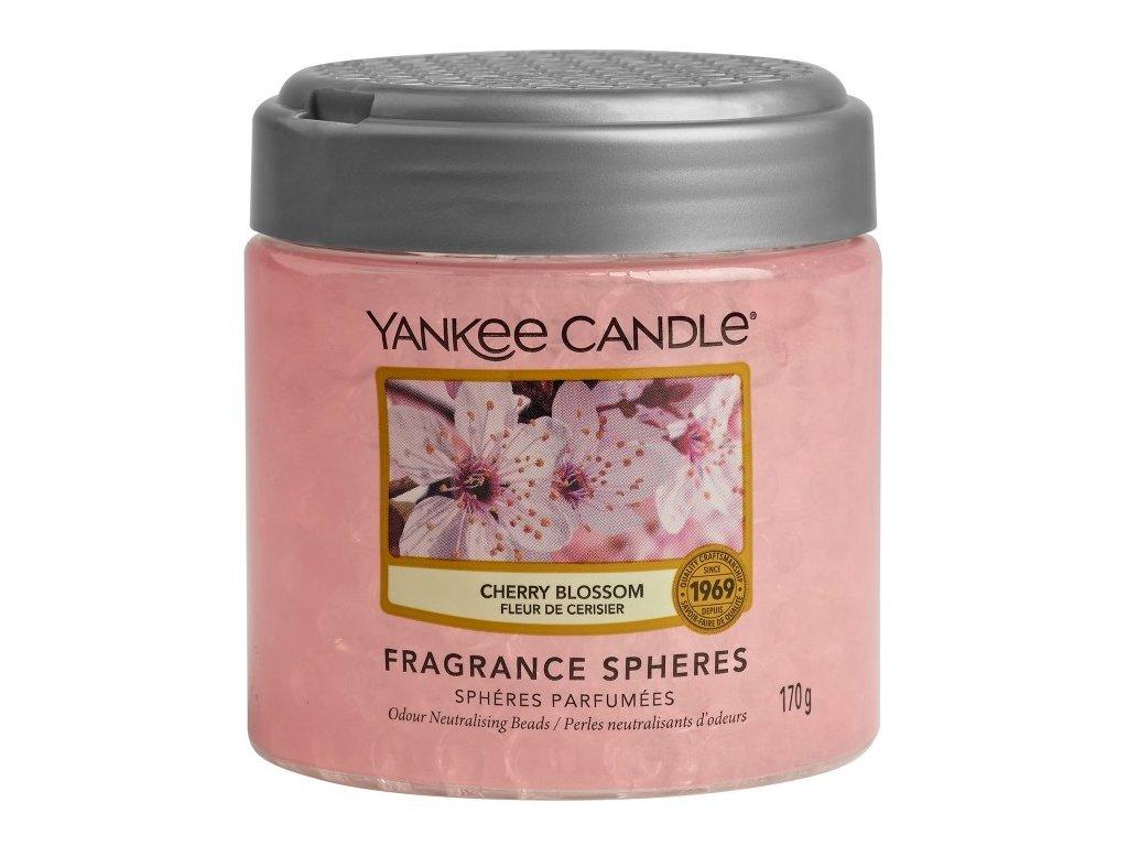 Yankee Candle Cherry Blossom Voňavé perly Spheres, 170 g