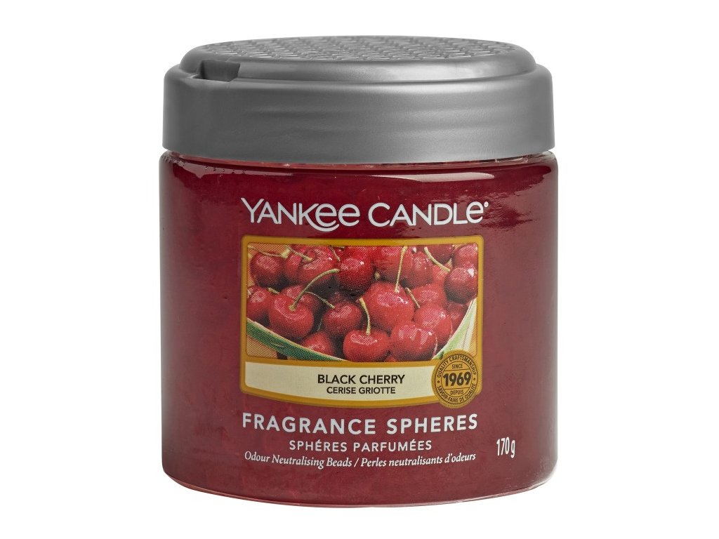 Yankee Candle Black Cherry Voňavé perly Spheres, 170 g