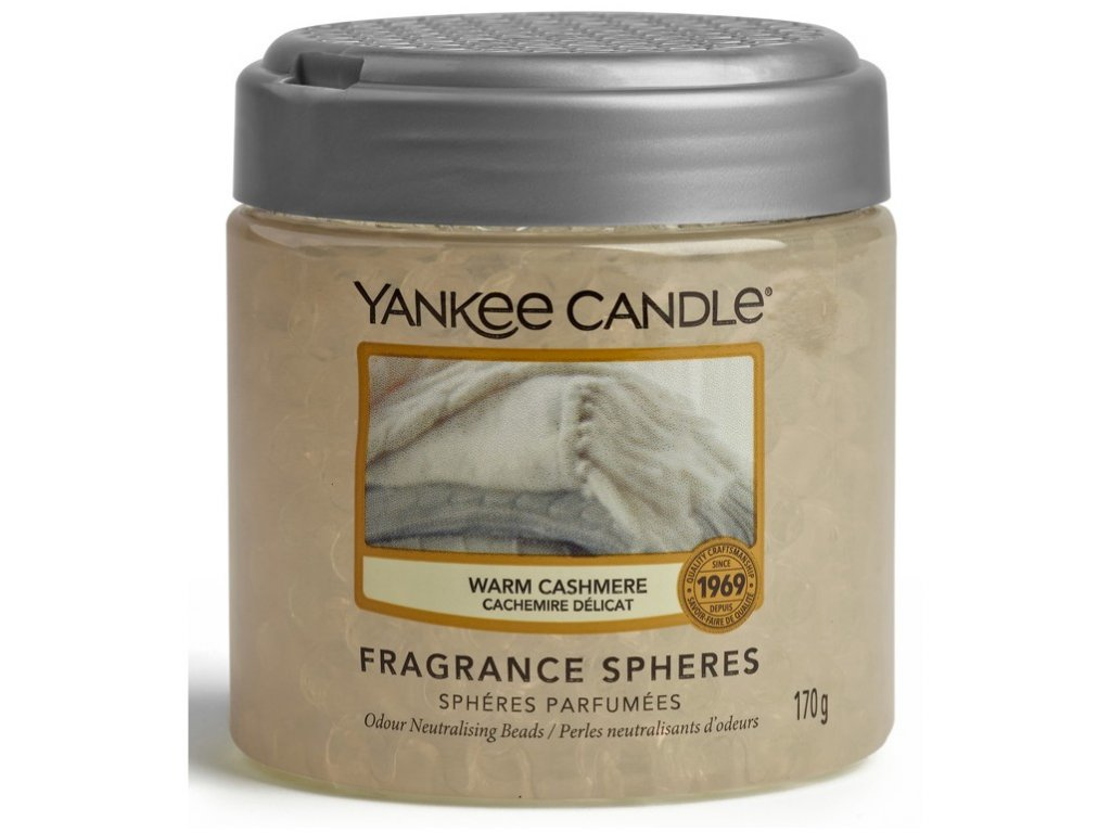 Yankee Candle Warm Cashmere Voňavé perly Spheres, 170 g