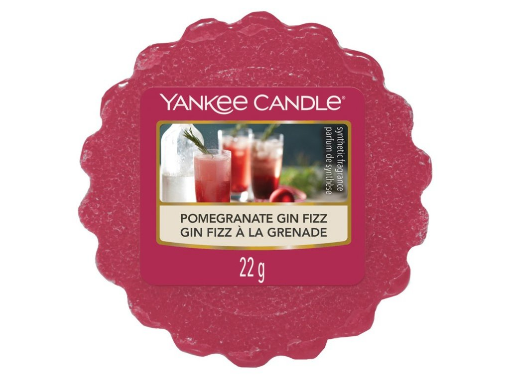 Yankee Candle - Pomegranate Gin Fizz Vosk do aromalampy, 22 g