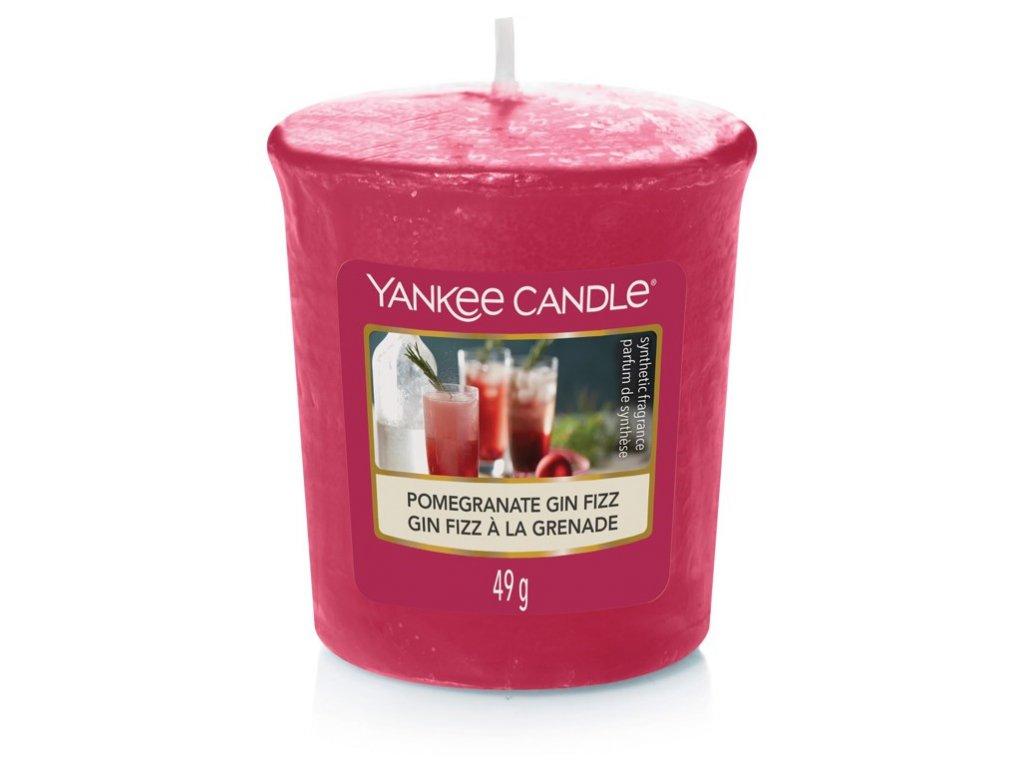 Yankee Candle Vonná Svíčka Votivní Pomegranate Gin Fizz, 49 g