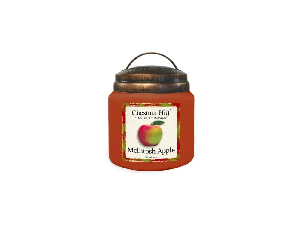 Chestnut Hill Candle svíčka Jablko McIntosh - McIntosh Apple, 454 g