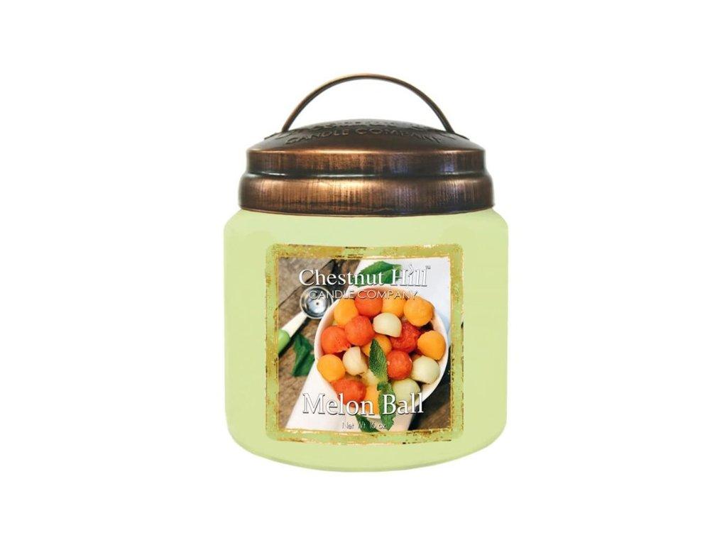Chestnut Hill Candle svíčka Koš melounů - Melon Ball, 454 g