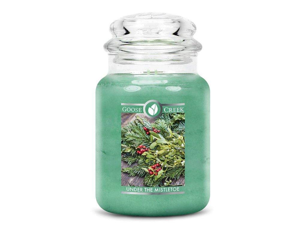 Goose Creek Candle svíčka Pod jmelím - Under the Mistletoe, 680 g