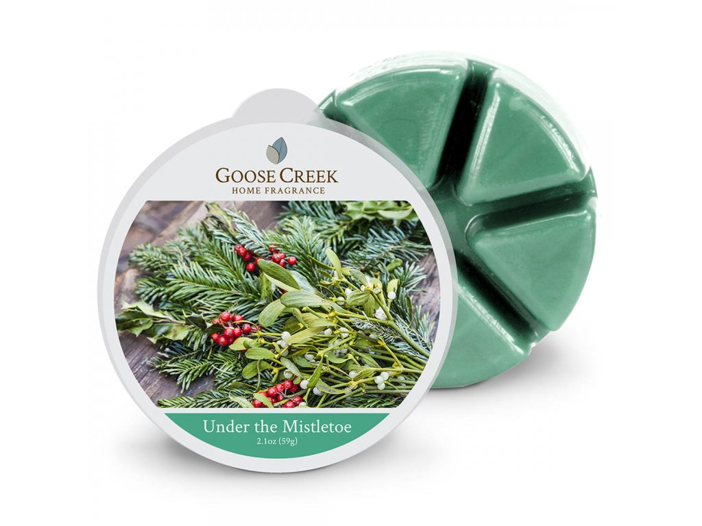Goose Creek Candle Vonný Vosk Pod jmelím - Under the Mistletoe, 59 g