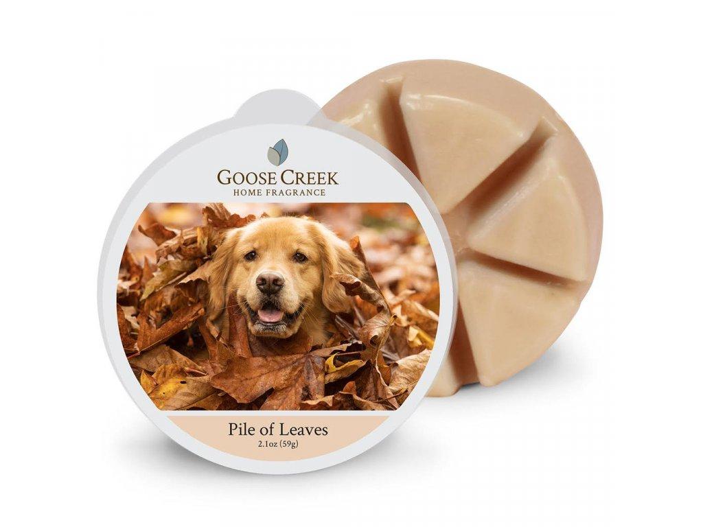 Goose Creek Candle Vonný Vosk Hromádka listí - Pile of Leaves, 59 g