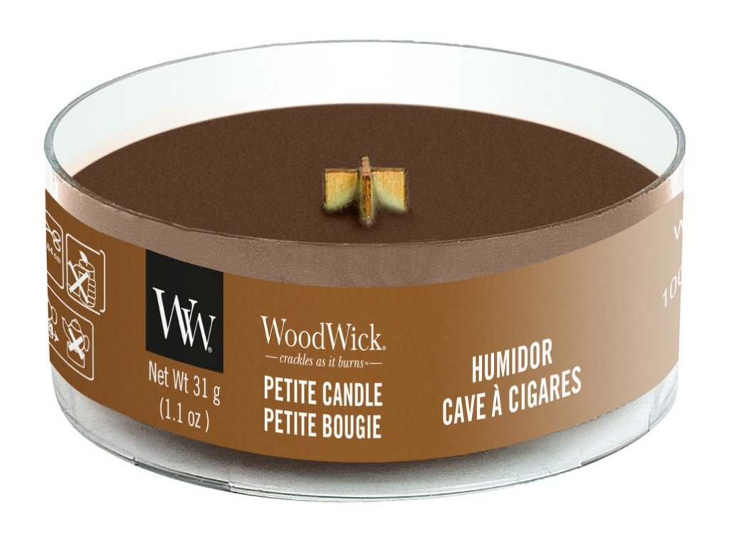 WoodWick Svíčka Petite Humidor, 31 g