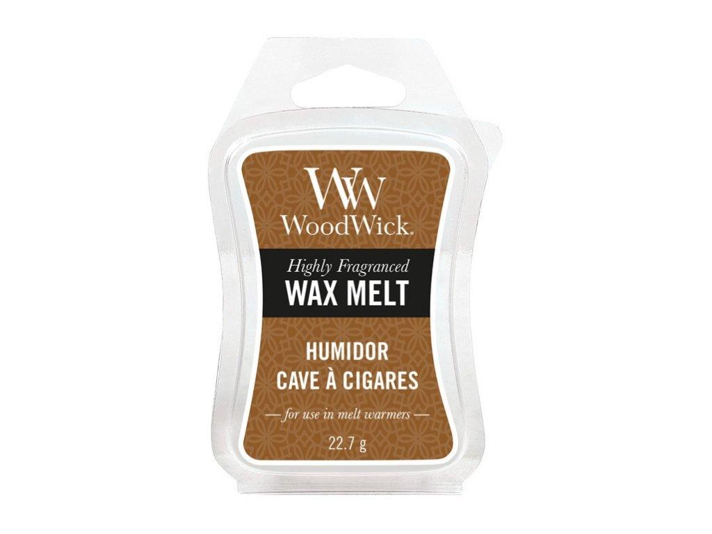 WoodWick Vonný vosk do aromalampy HUMIDOR, 22,7 g
