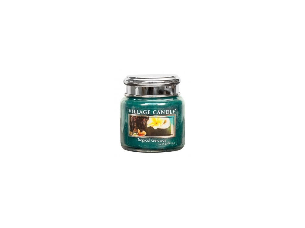 Village Candle Vonná svíčka Víkend V Tropech - Tropical Getaway, 92 g