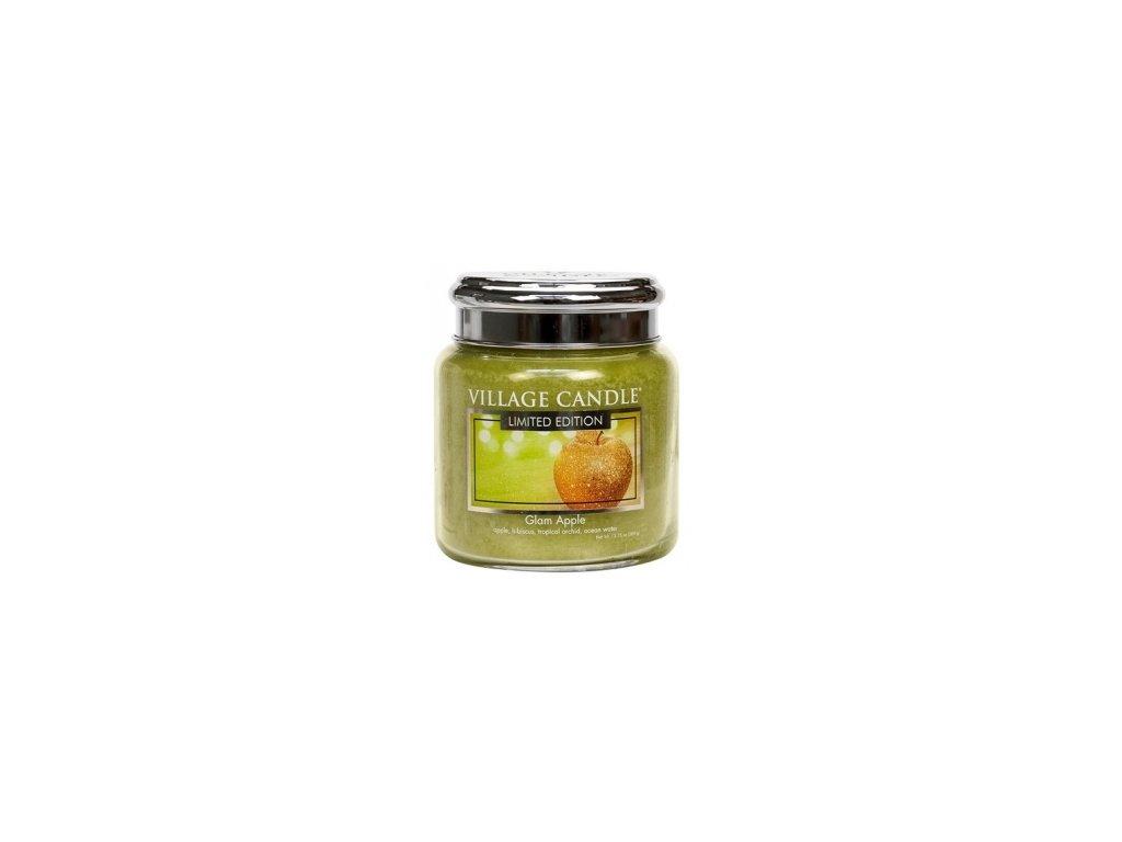 Village Candle Vonná svíčka Glam Apple, 92 g