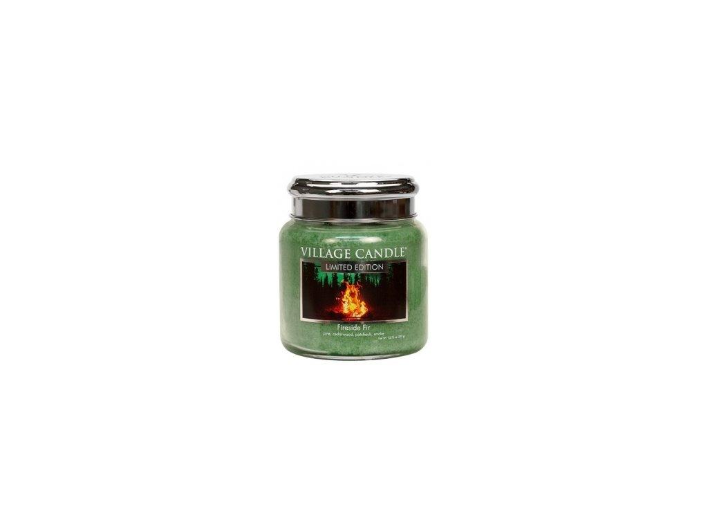 Village Candle Vonná svíčka Fireside Fir, 92 g