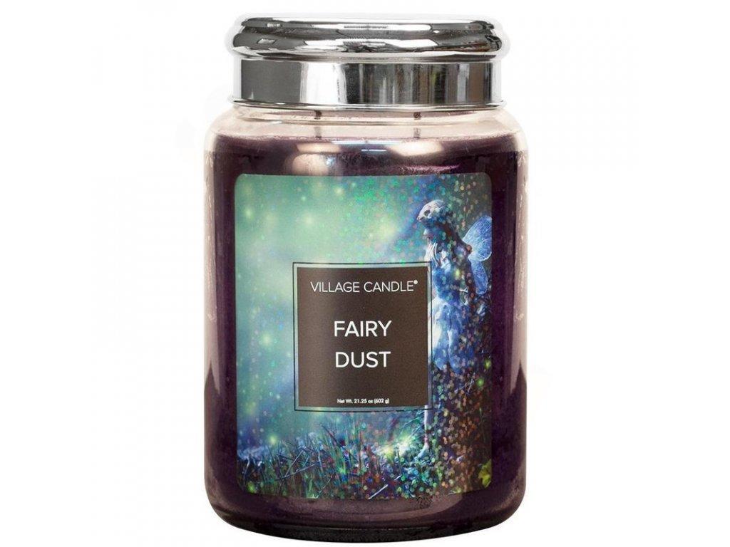 Village Candle Vonná svíčka Vílí Prach - Fairy Dust, 602 g