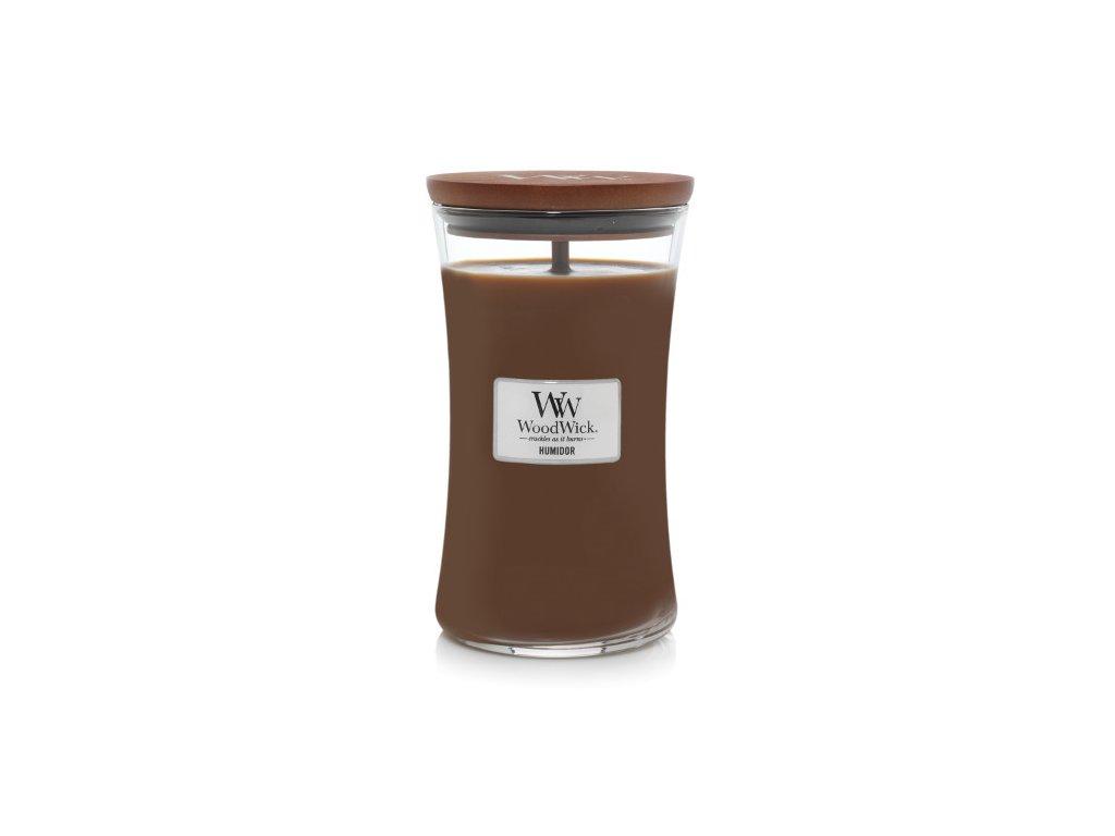 WoodWick Svíčka Humidor váza velká, 609,5 g