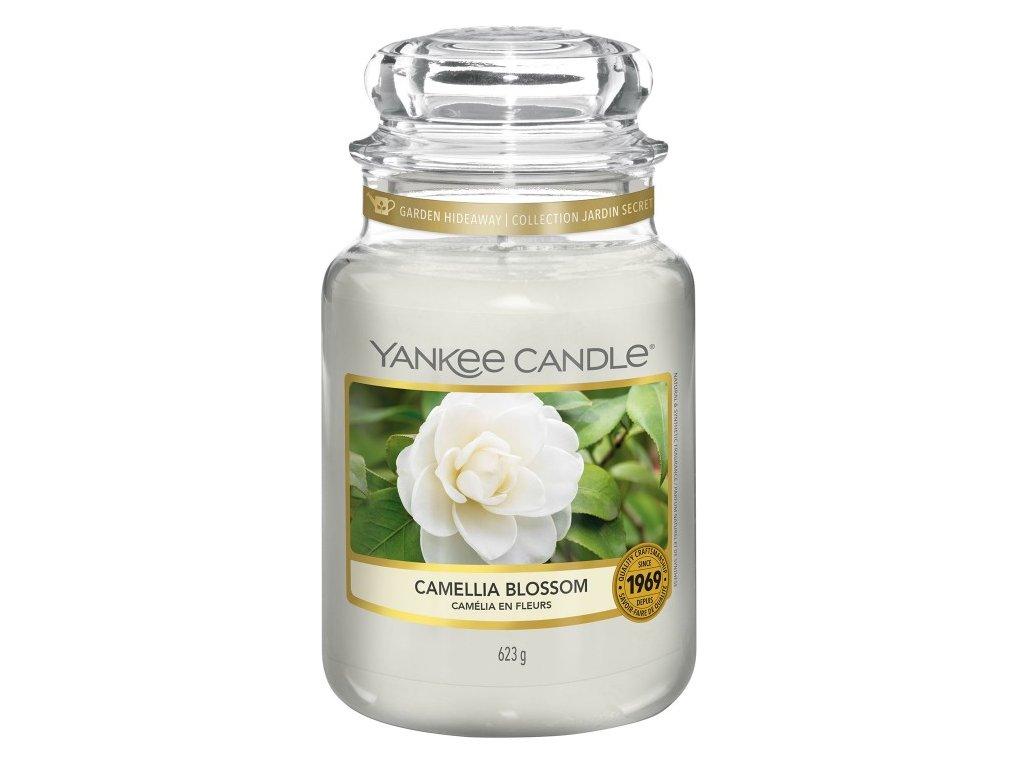 Yankee Candle Vonná Svíčka Camellia Blossom classic velký, 623 g