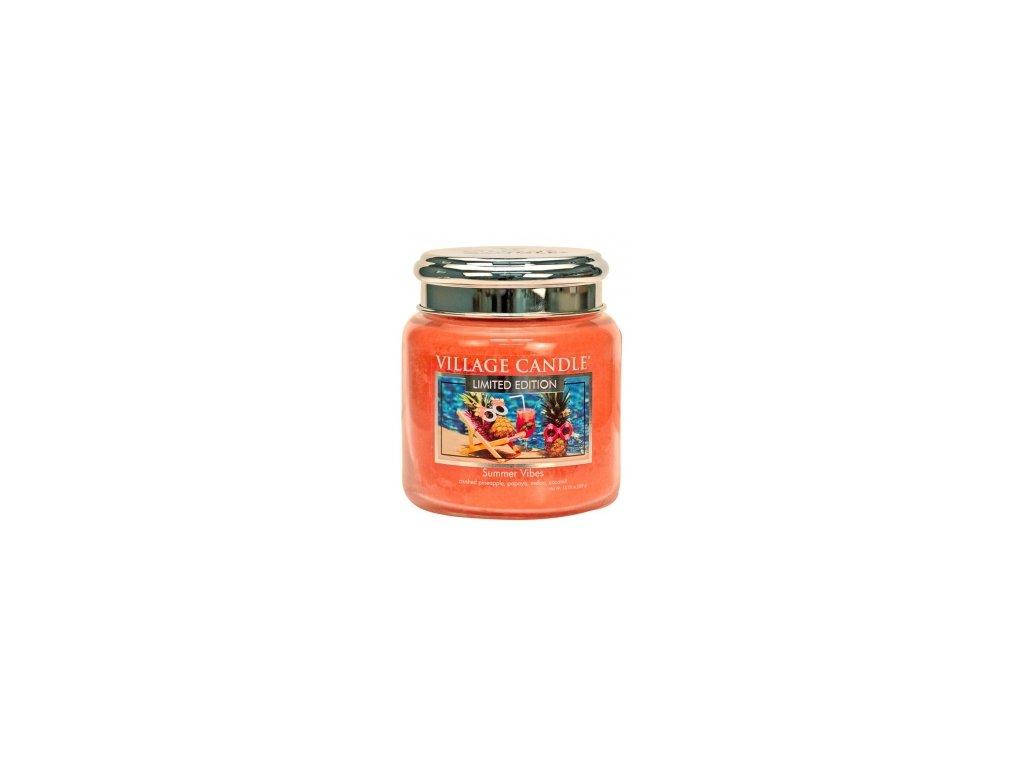 Village Candle Vonná svíčka Summer Vibes, 389 g