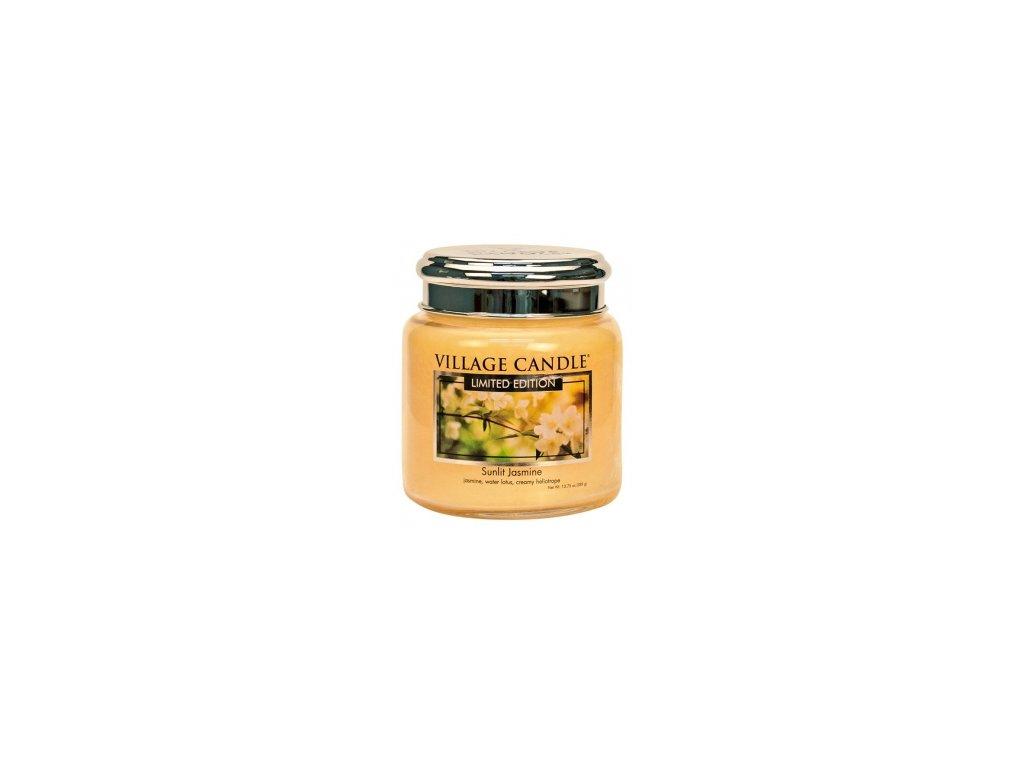 Village Candle Vonná svíčka Sunlit Jasmine, 389 g