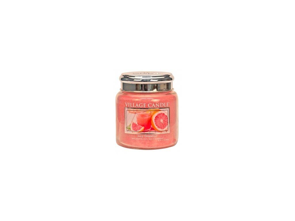 Village Candle Vonná svíčka Juicy Grapefruit, 389 g