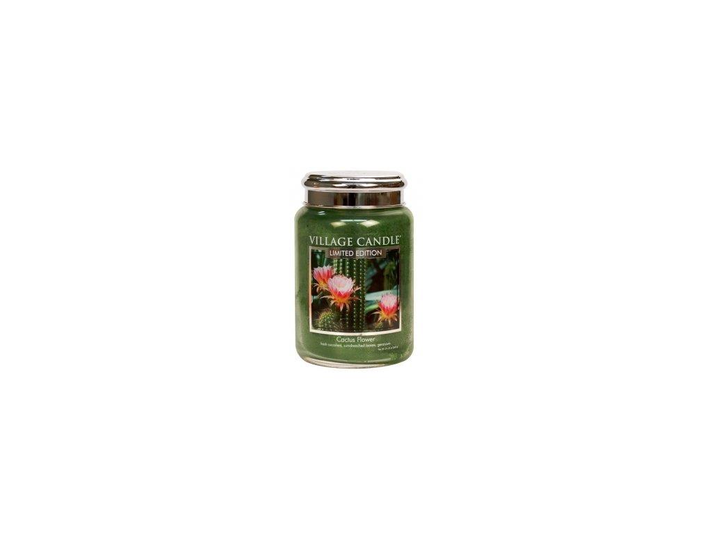 Village Candle Vonná svíčka Cactus Flower, 602 g