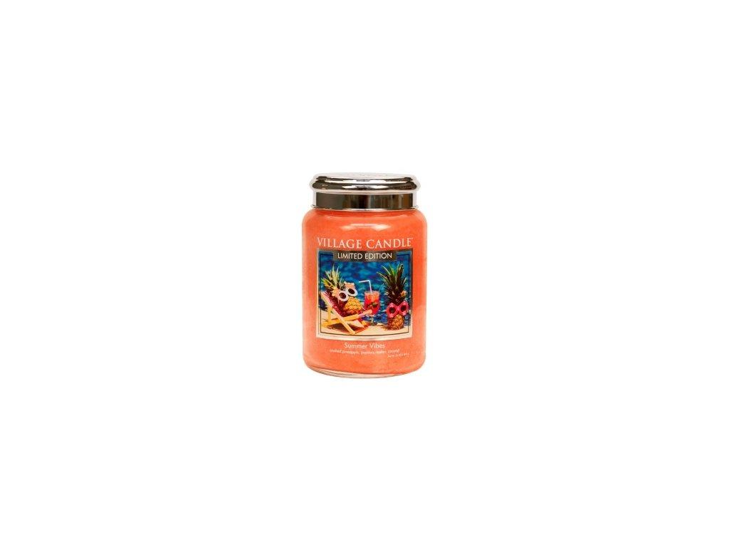 Village Candle Vonná svíčka Summer Vibes, 602 g