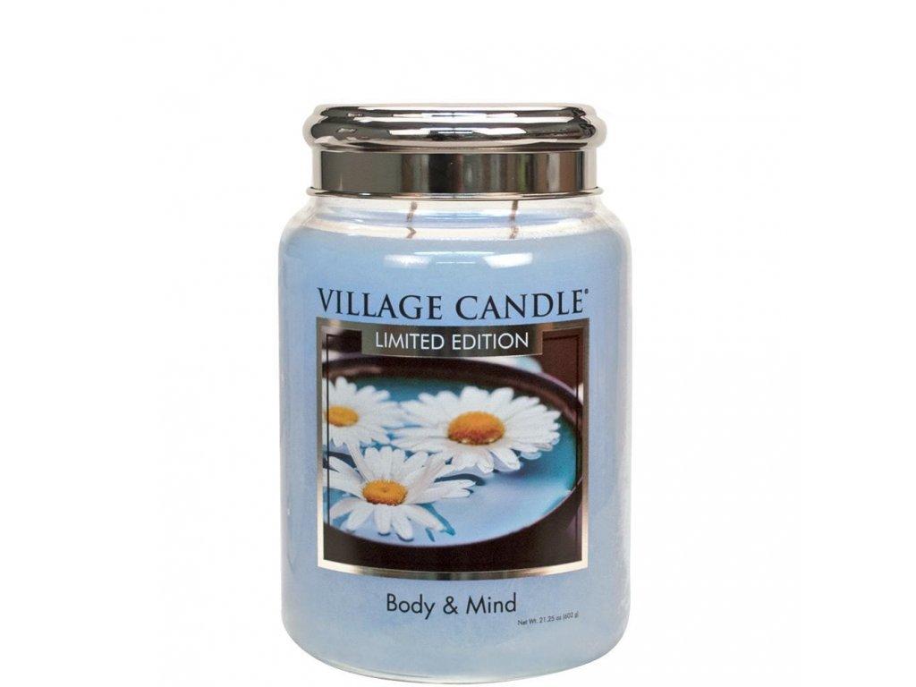 Village Candle Vonná svíčka Body & Mind, 602 g