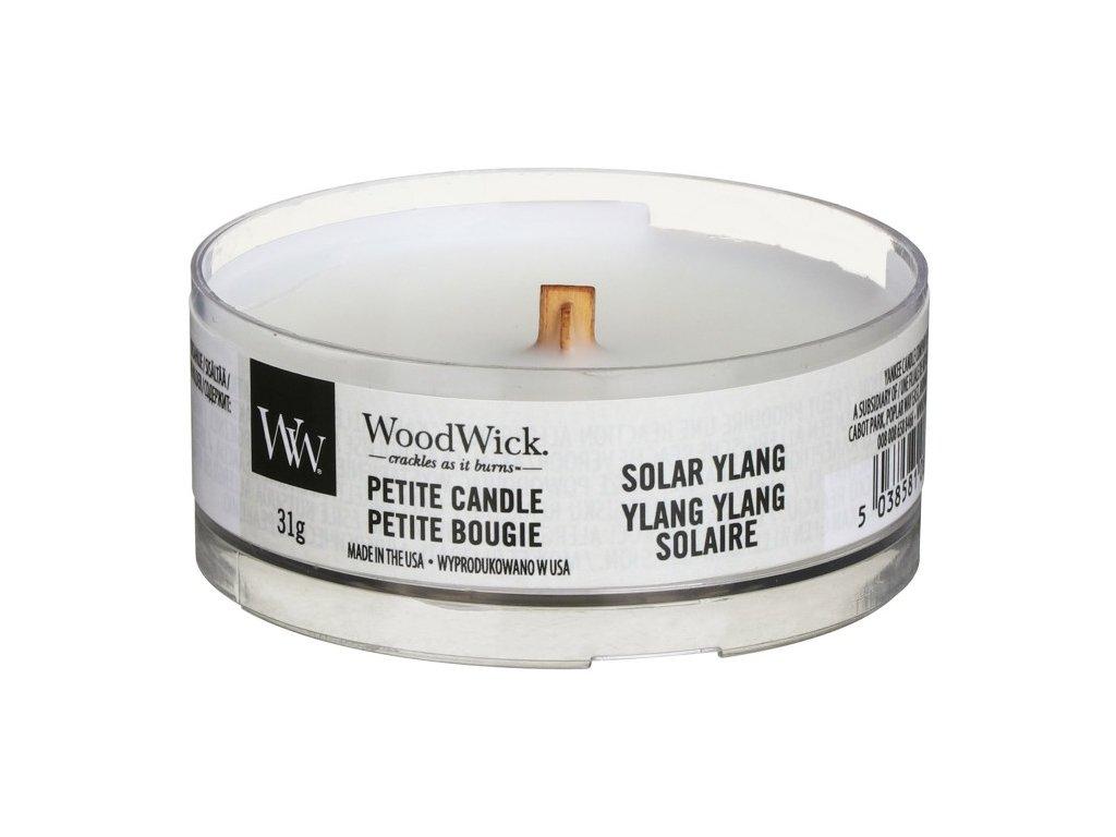 WoodWick Svíčka Petite Solar Ylang, 31 g