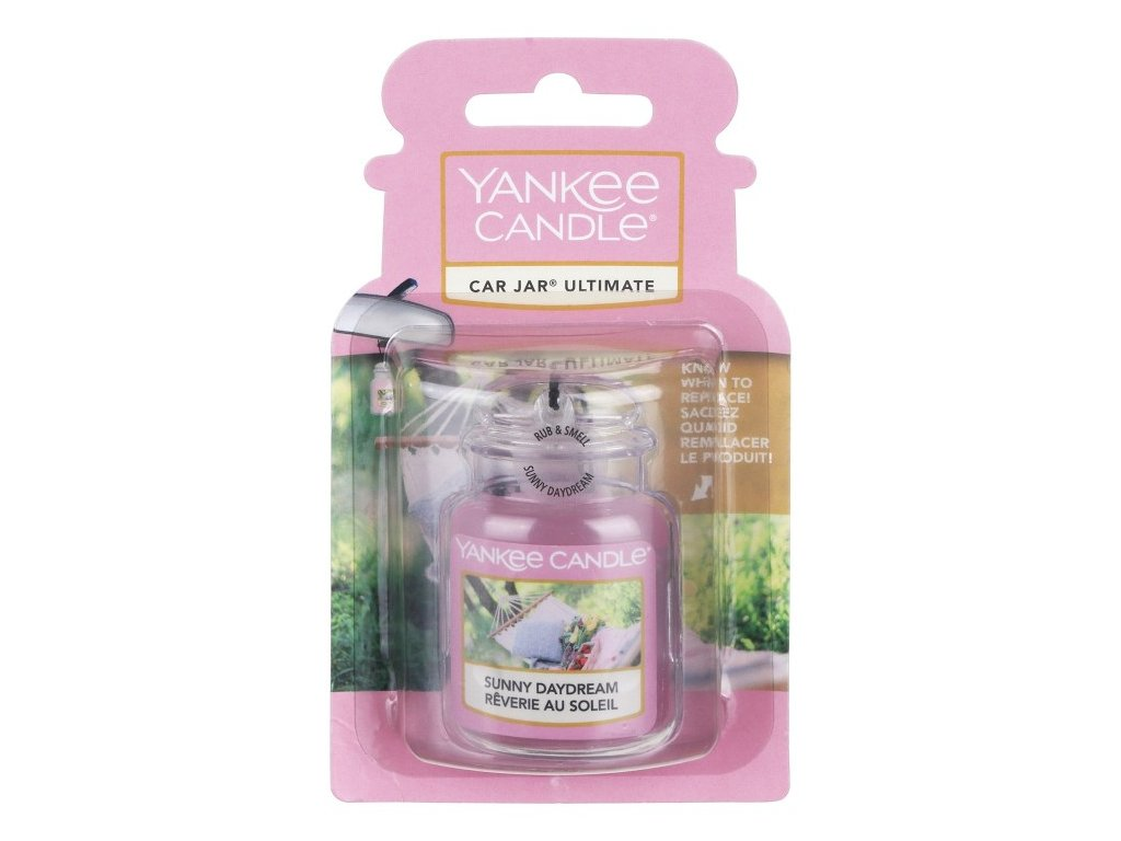 Yankee Candle Sunny Daydream Gelová aroma visačka do auta, 1 ks