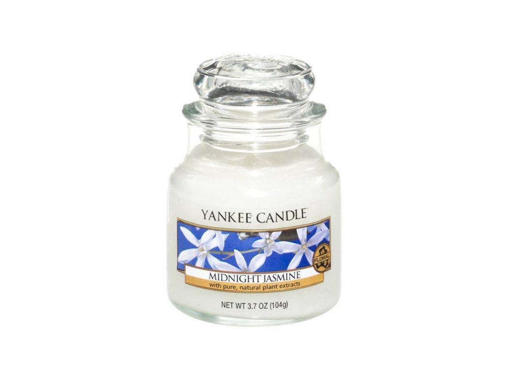 Yankee Candle vonná svíčka Midnight Jasmine classic malý, 104 g