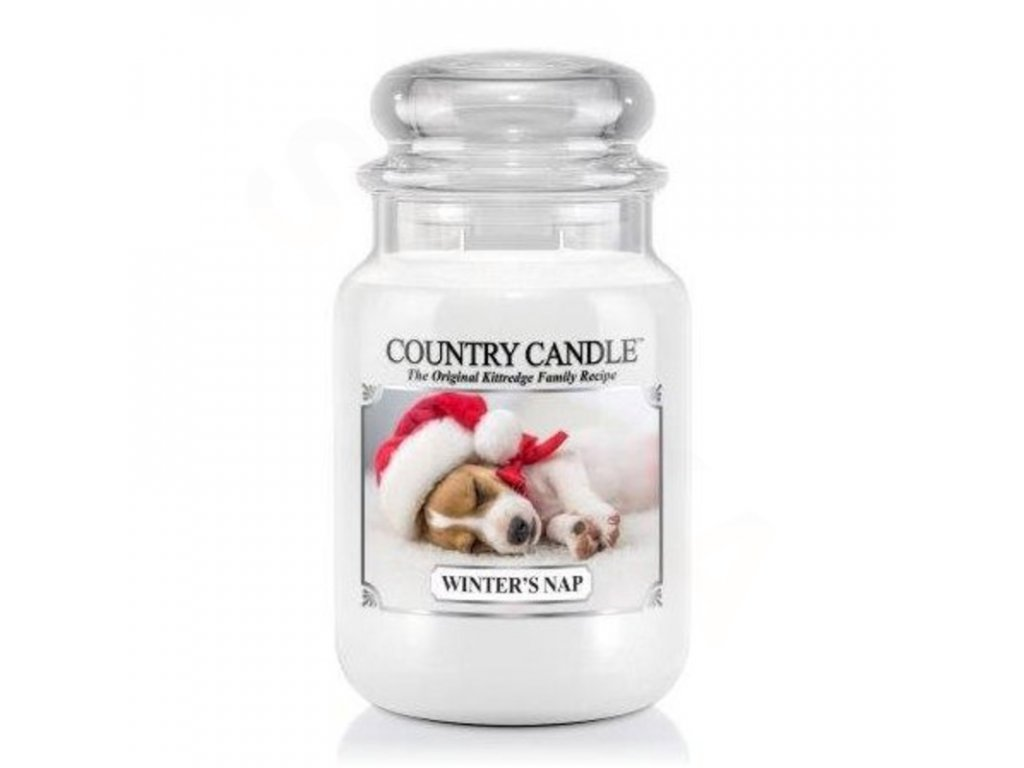 Country Candle Vonná Svíčka Winter's Nap, 652 g
