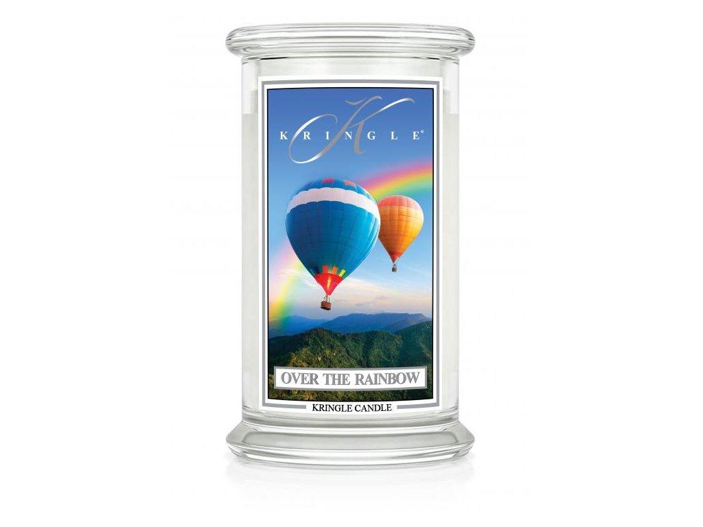 Kringle Candle svíčka Over the Rainbow, 623 g