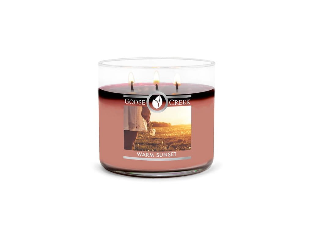 Goose Creek candle svíčka Warm Sunset, 411g
